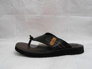Sandalia de dedo en piel